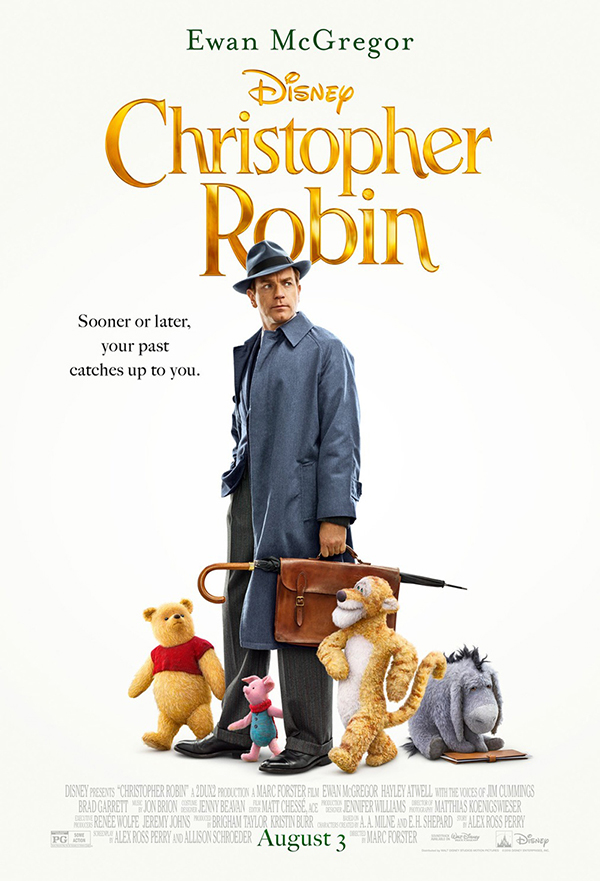 Christopher Robin kapak