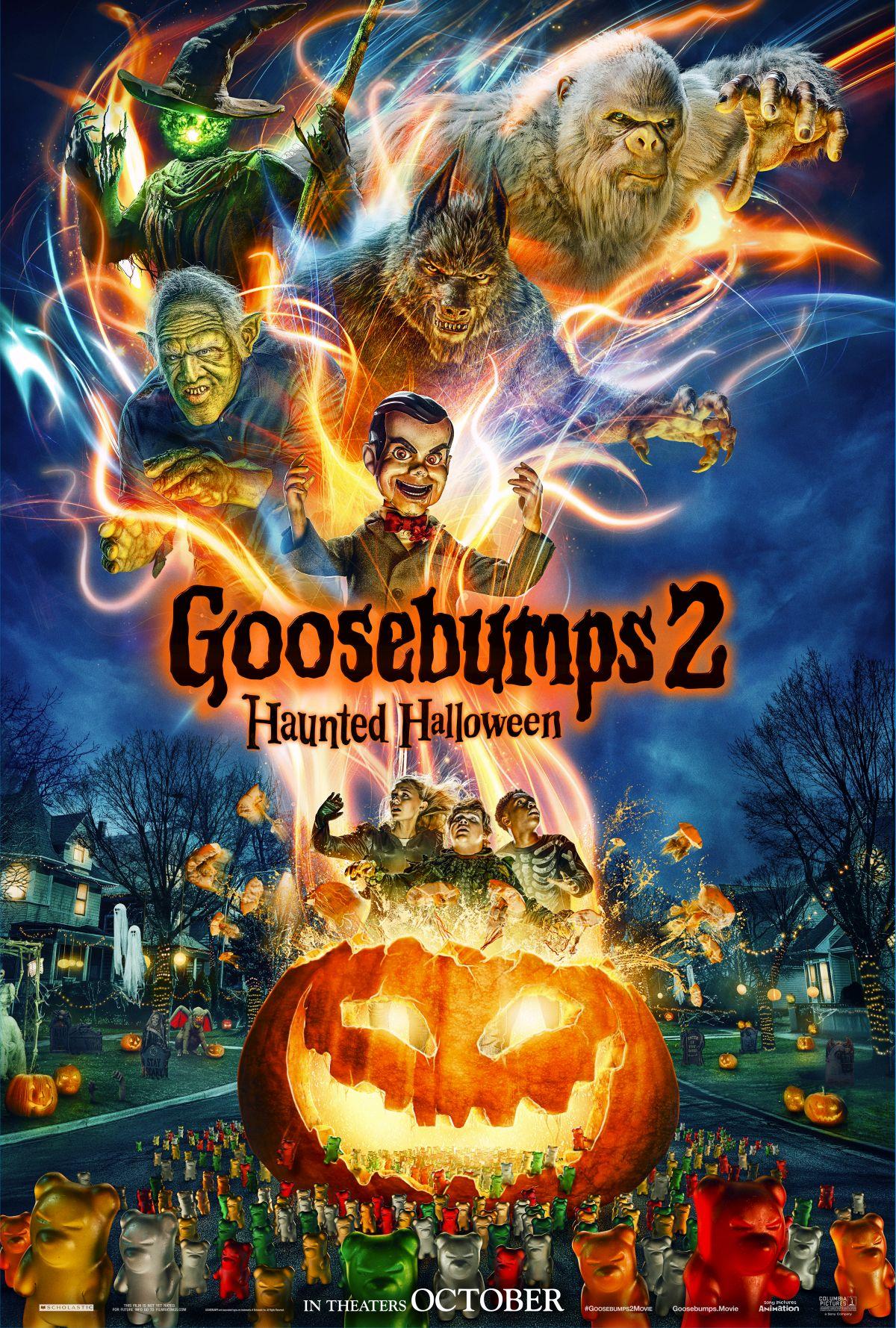 Goosebumps 2: Haunted Halloween kapak
