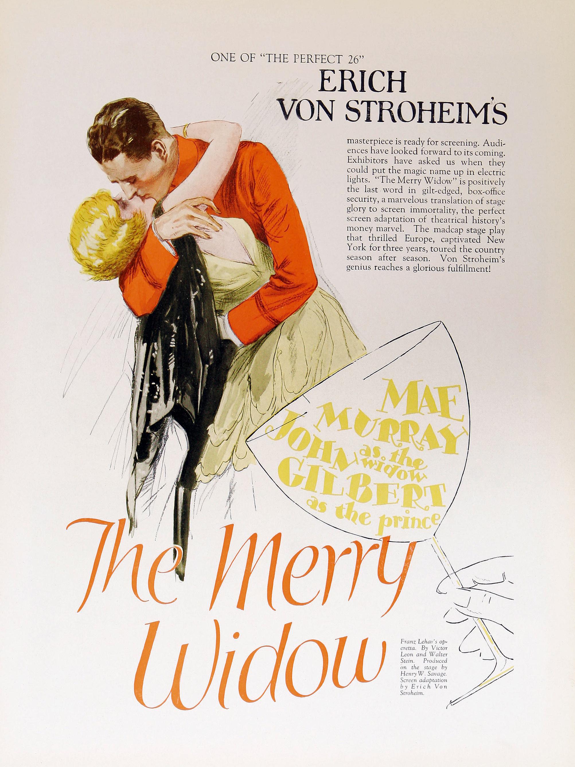 The Merry Widow kapak