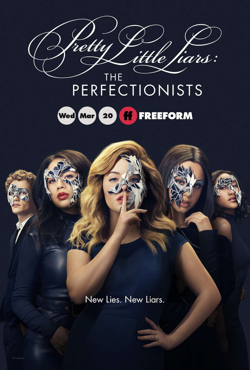 Pretty Little Liars: The Perfectionists kapak