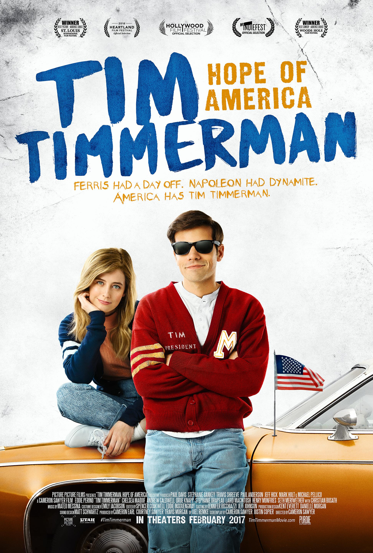 Tim Timmerman, Hope of America kapak