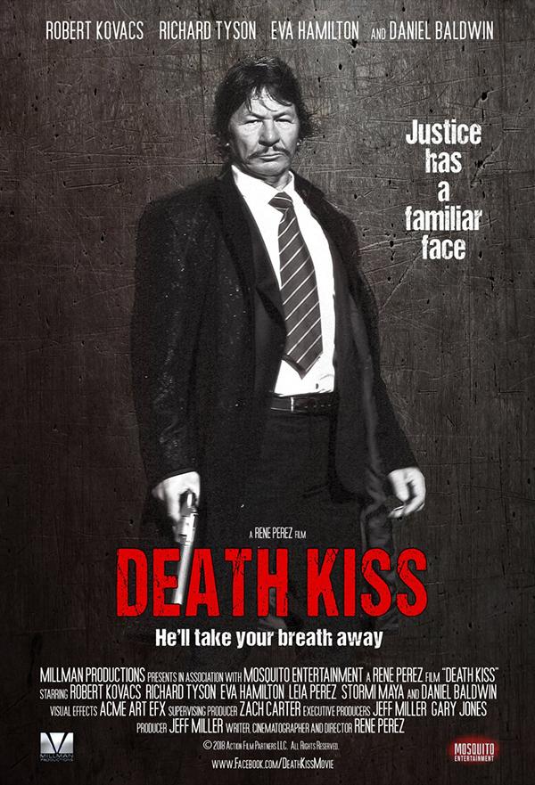 Death Kiss kapak