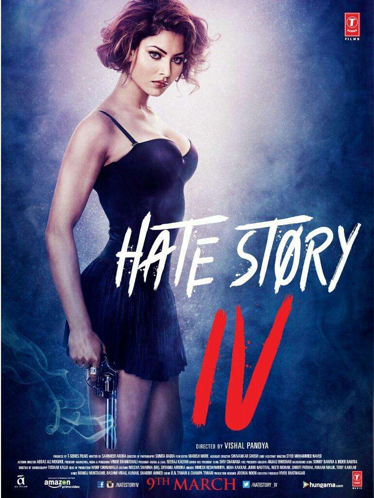 Hate Story 4 kapak