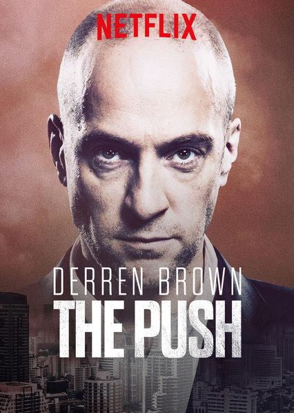 Derren Brown: Pushed to the Edge kapak