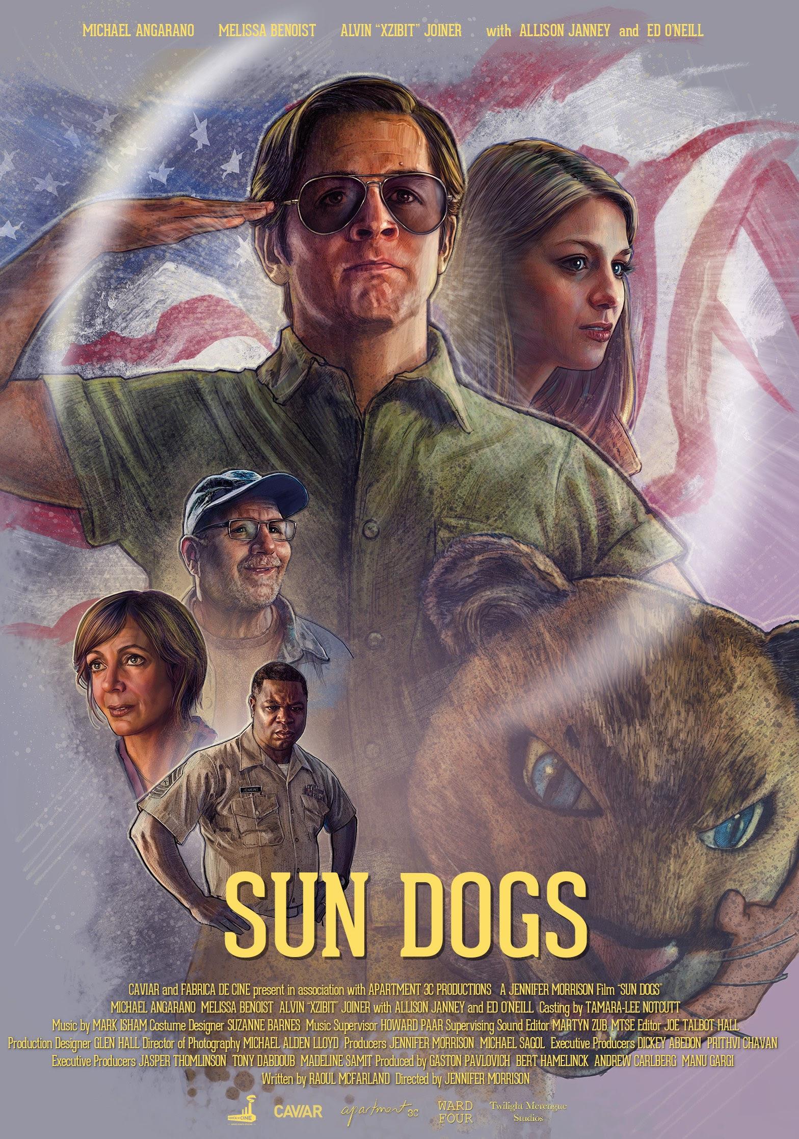 Sun Dogs kapak