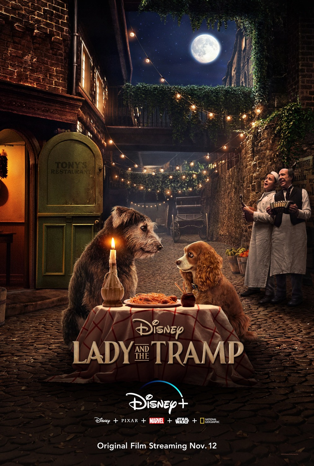 Lady and the Tramp kapak