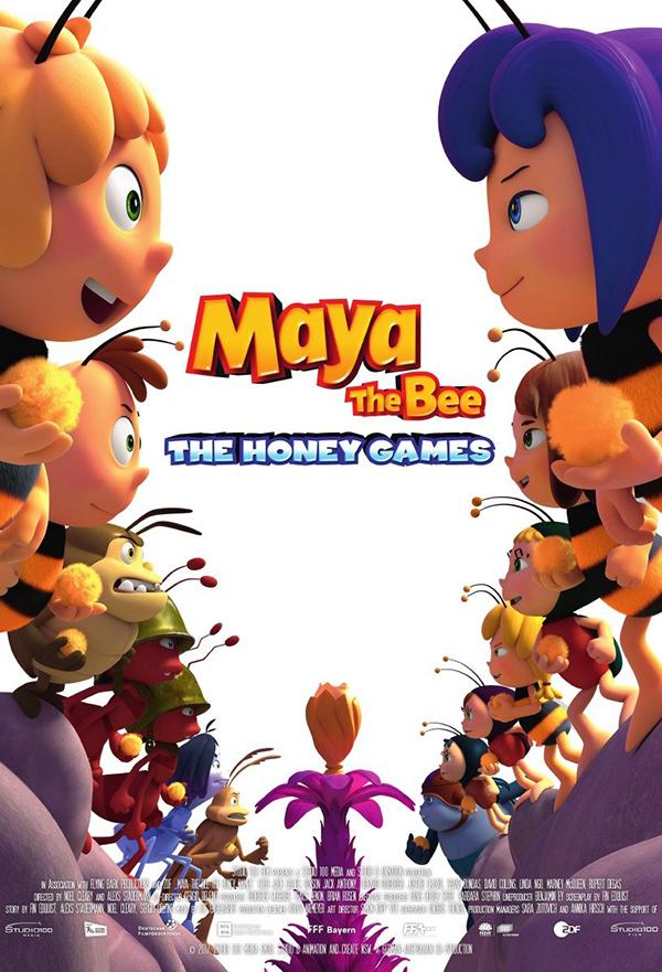 Maya the Bee: The Honey Games kapak