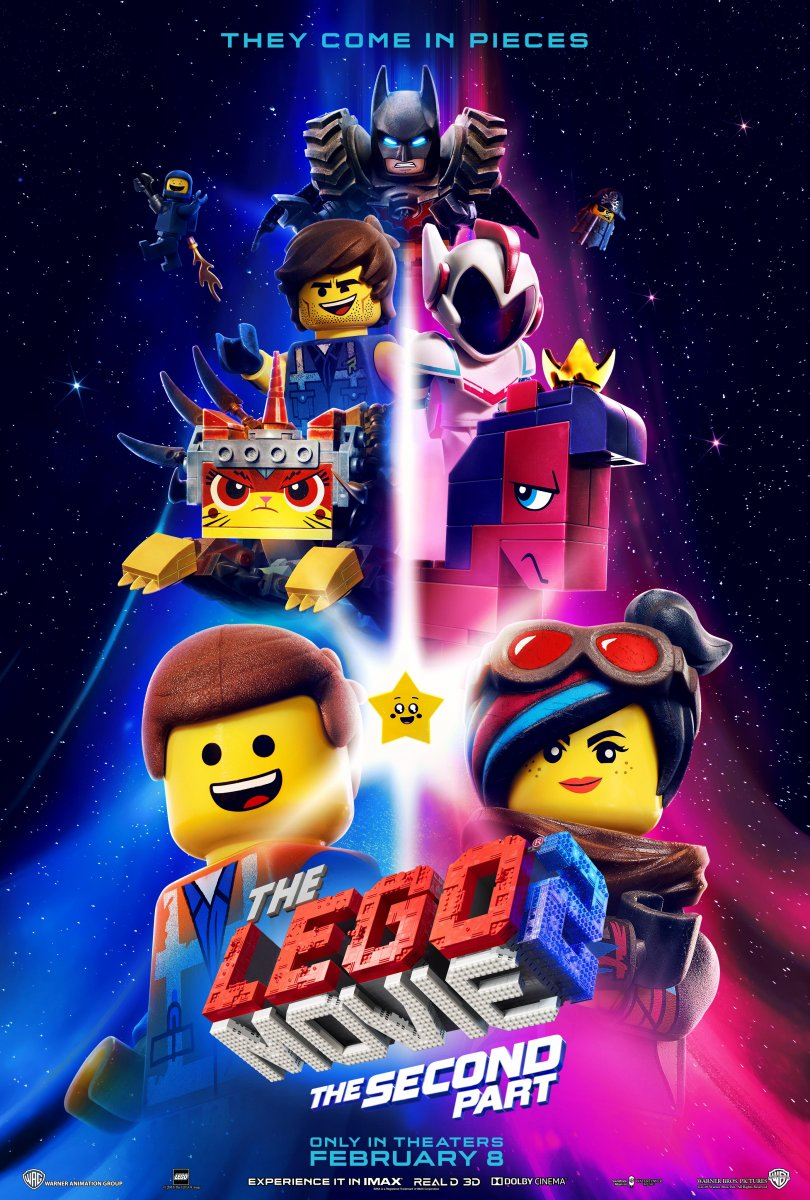 The Lego Movie 2: The Second Part kapak
