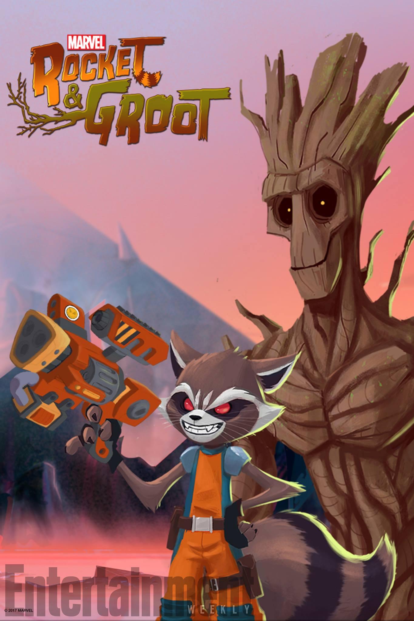 Rocket & Groot kapak