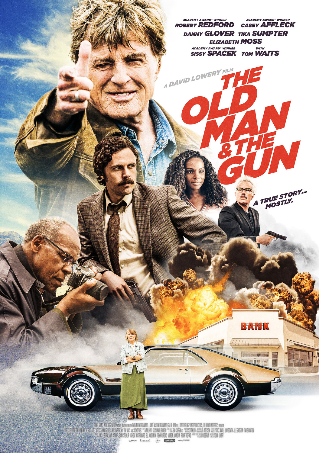 The Old Man & the Gun kapak