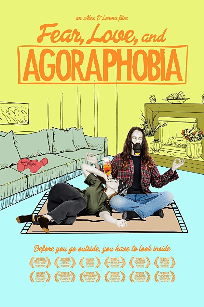 Fear Love and Agoraphobia kapak