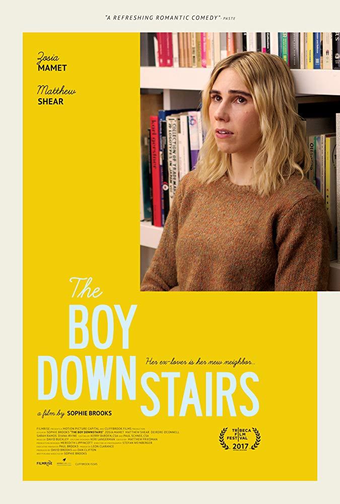 The Boy Downstairs kapak