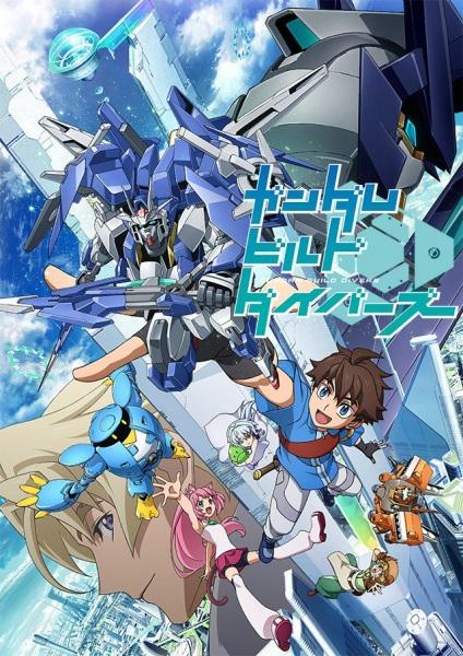 Gundam Build Divers kapak