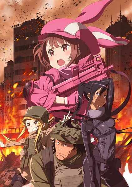 Sword Art Online: Alternative Gun Gale Online kapak