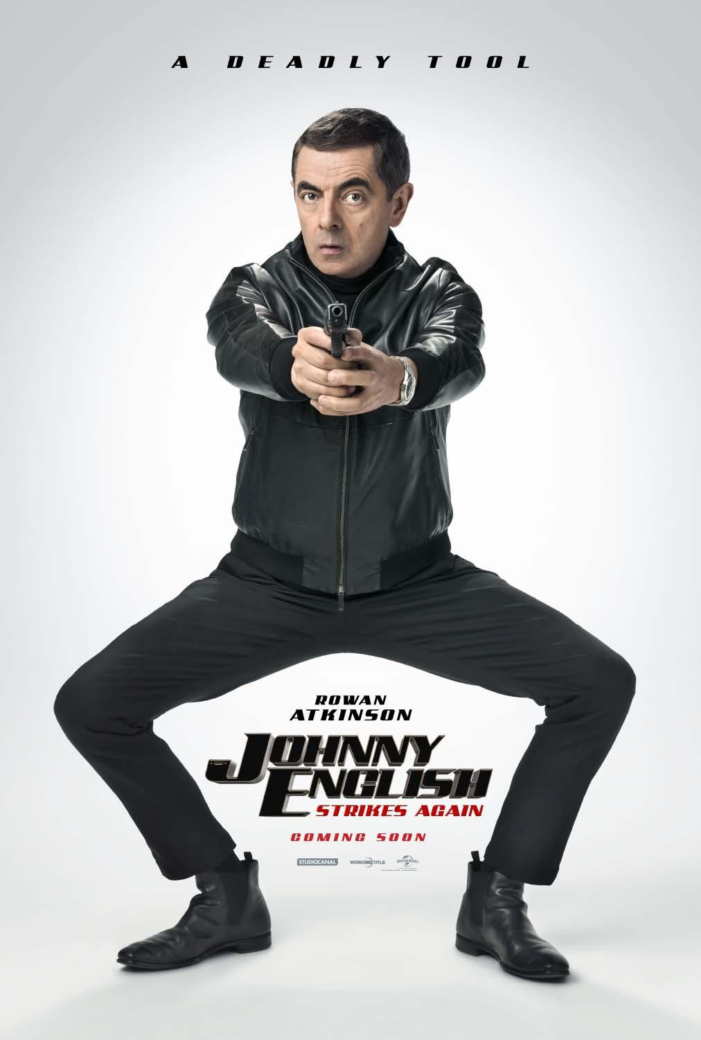 Johnny English Strikes Again kapak