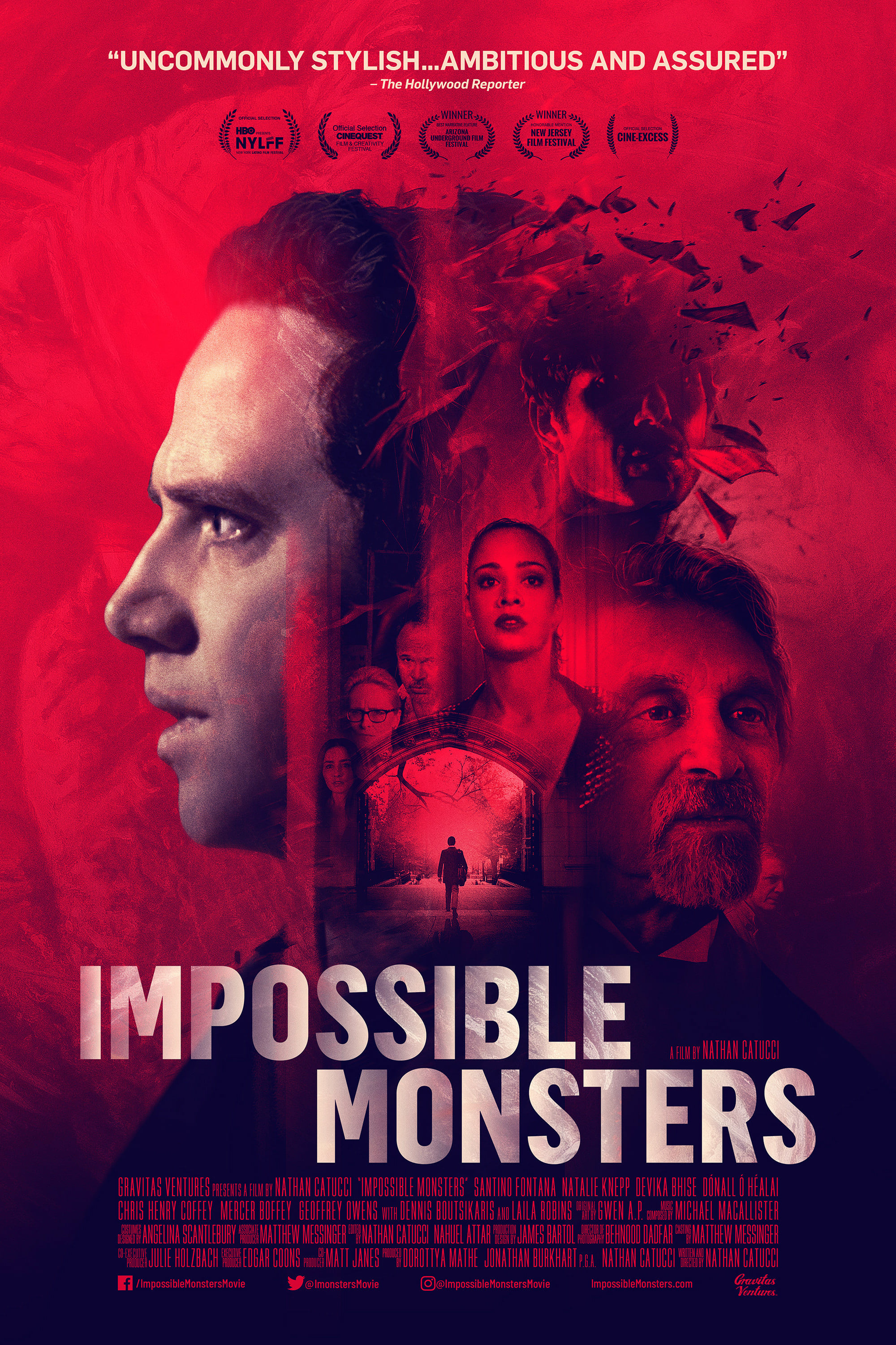 Impossible Monsters kapak