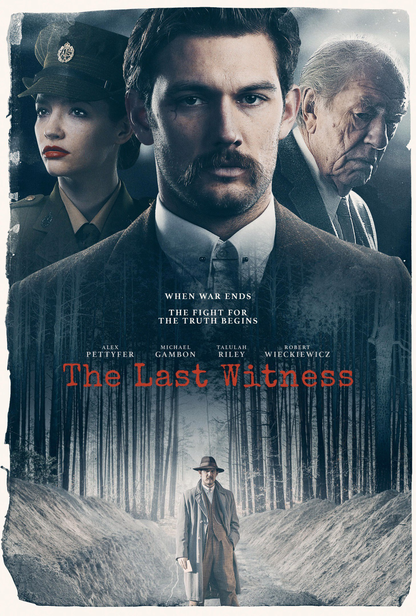The Last Witness kapak