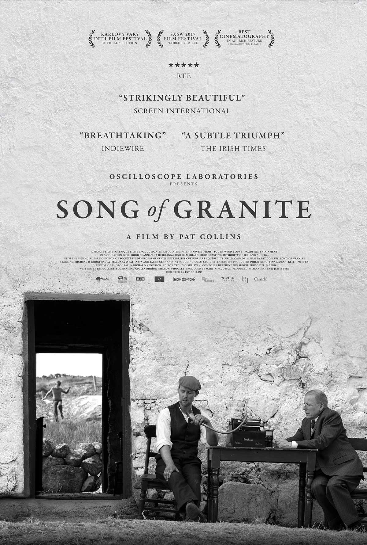 Song of Granite kapak