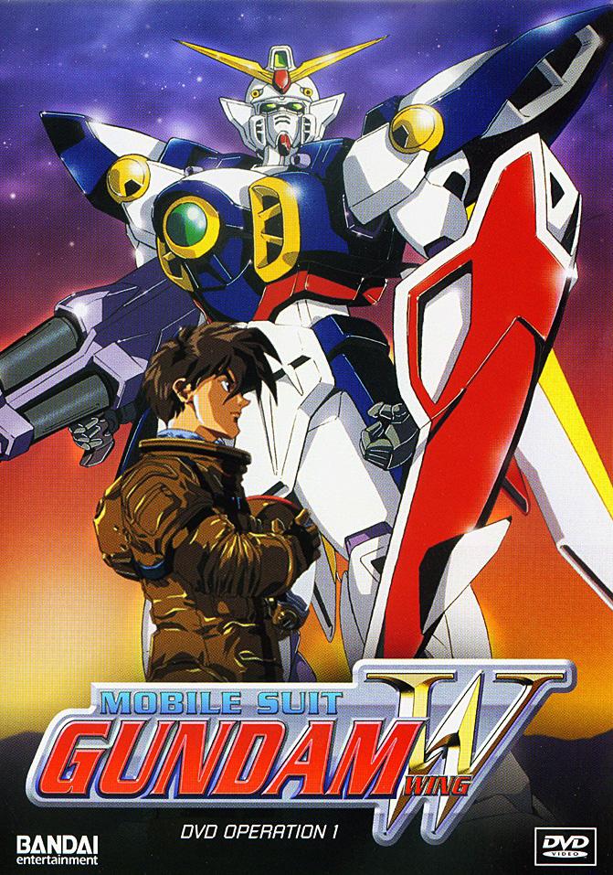 Mobile Suit Gundam Wing kapak