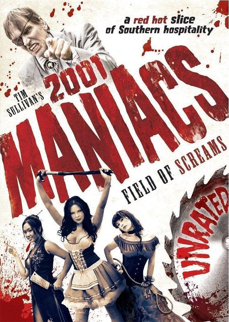 2001 Maniacs: Field of Screams kapak