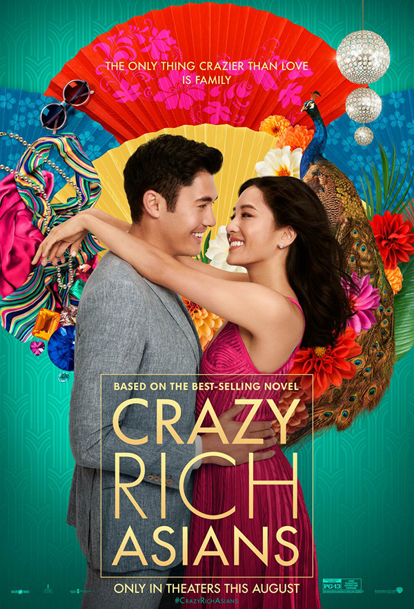Crazy Rich Asians kapak
