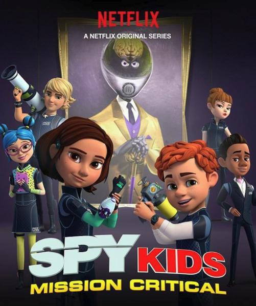 Spy Kids: Mission Critical kapak