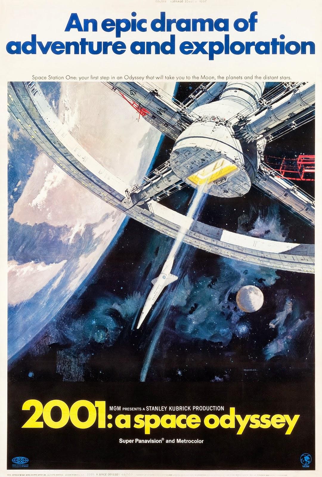 2001: A Space Odyssey kapak