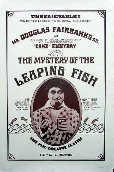 The Mystery of the Leaping Fish kapak