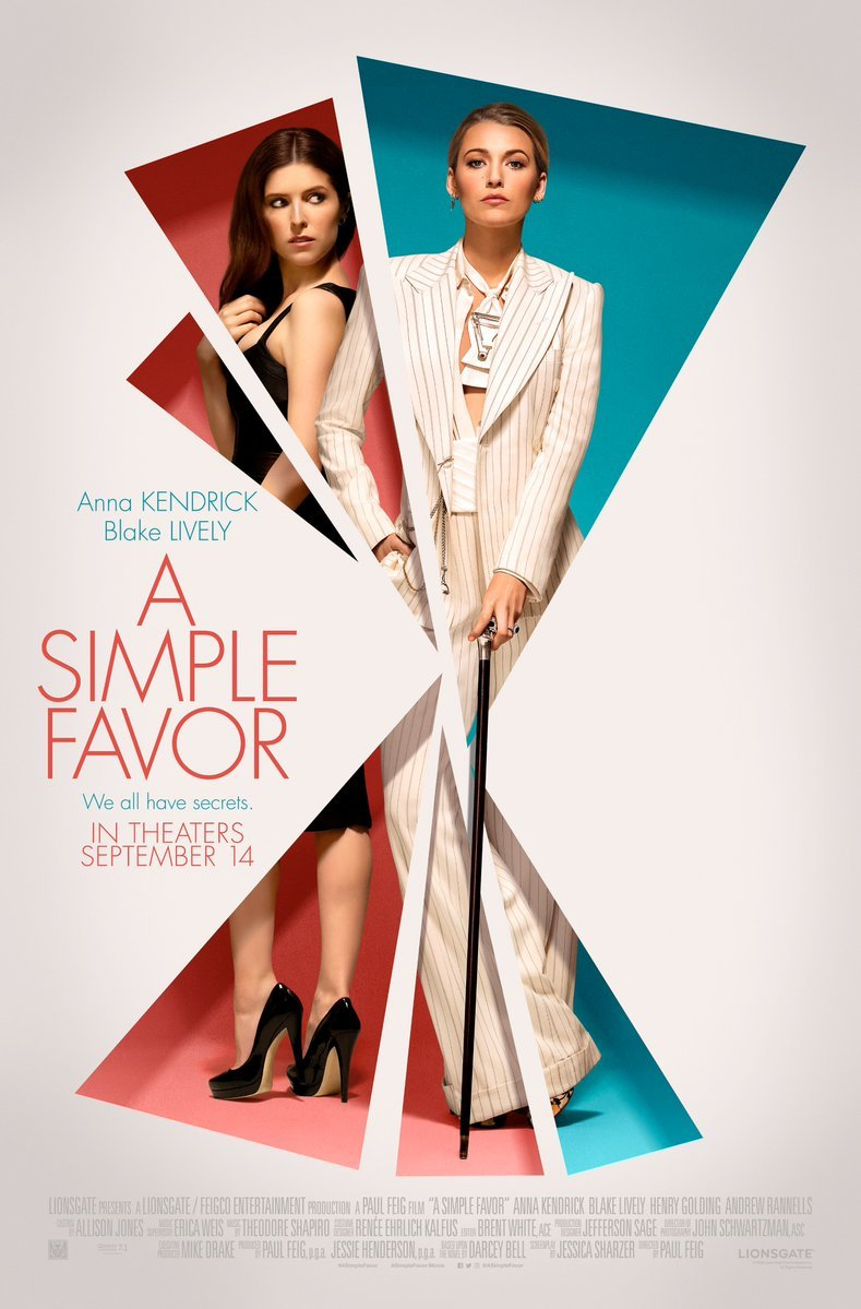 A Simple Favor kapak
