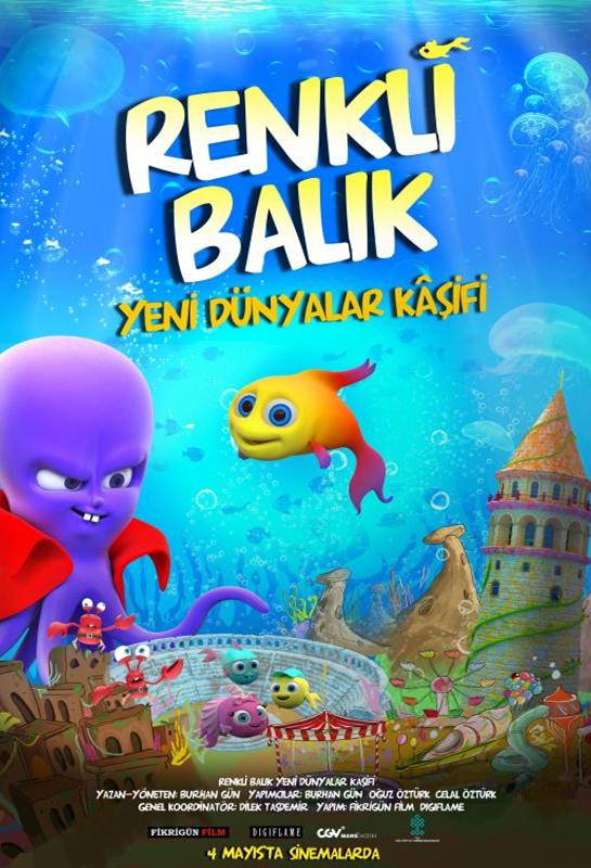 Renkli Balık Yeni Dünyalar Kâşifi  kapak