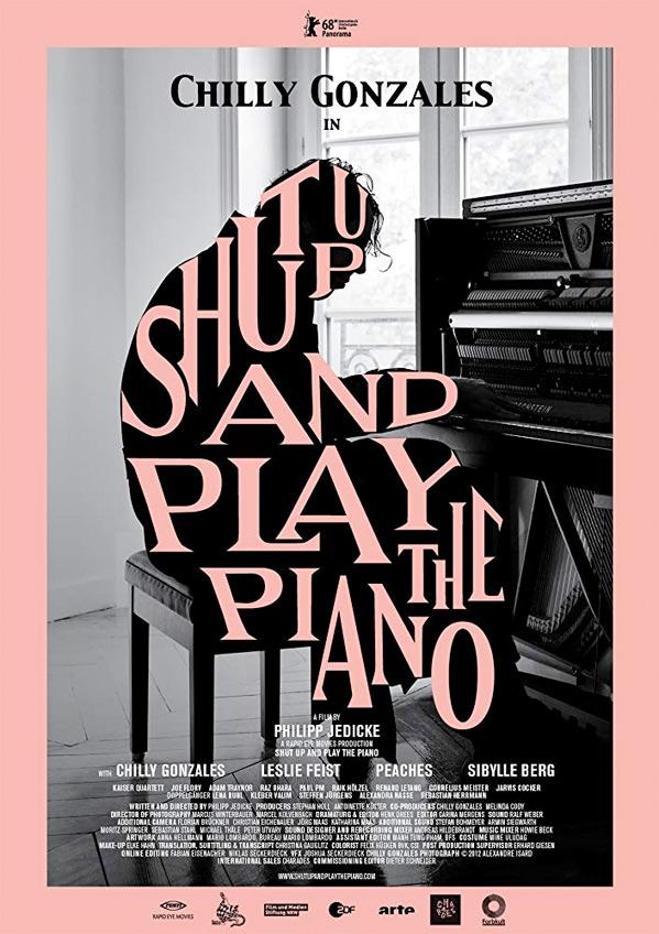 Shut Up and Play the Piano kapak