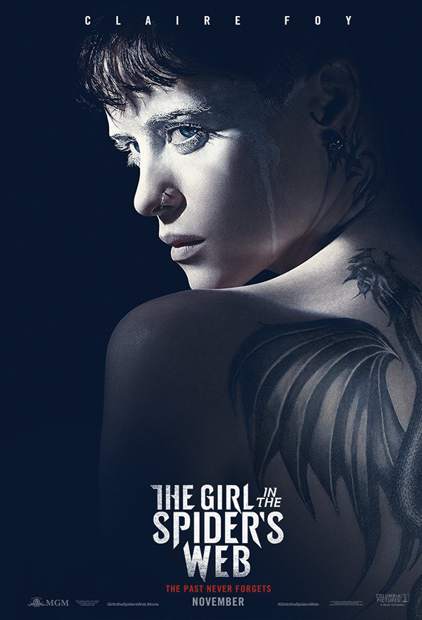 The Girl in the Spider's Web kapak