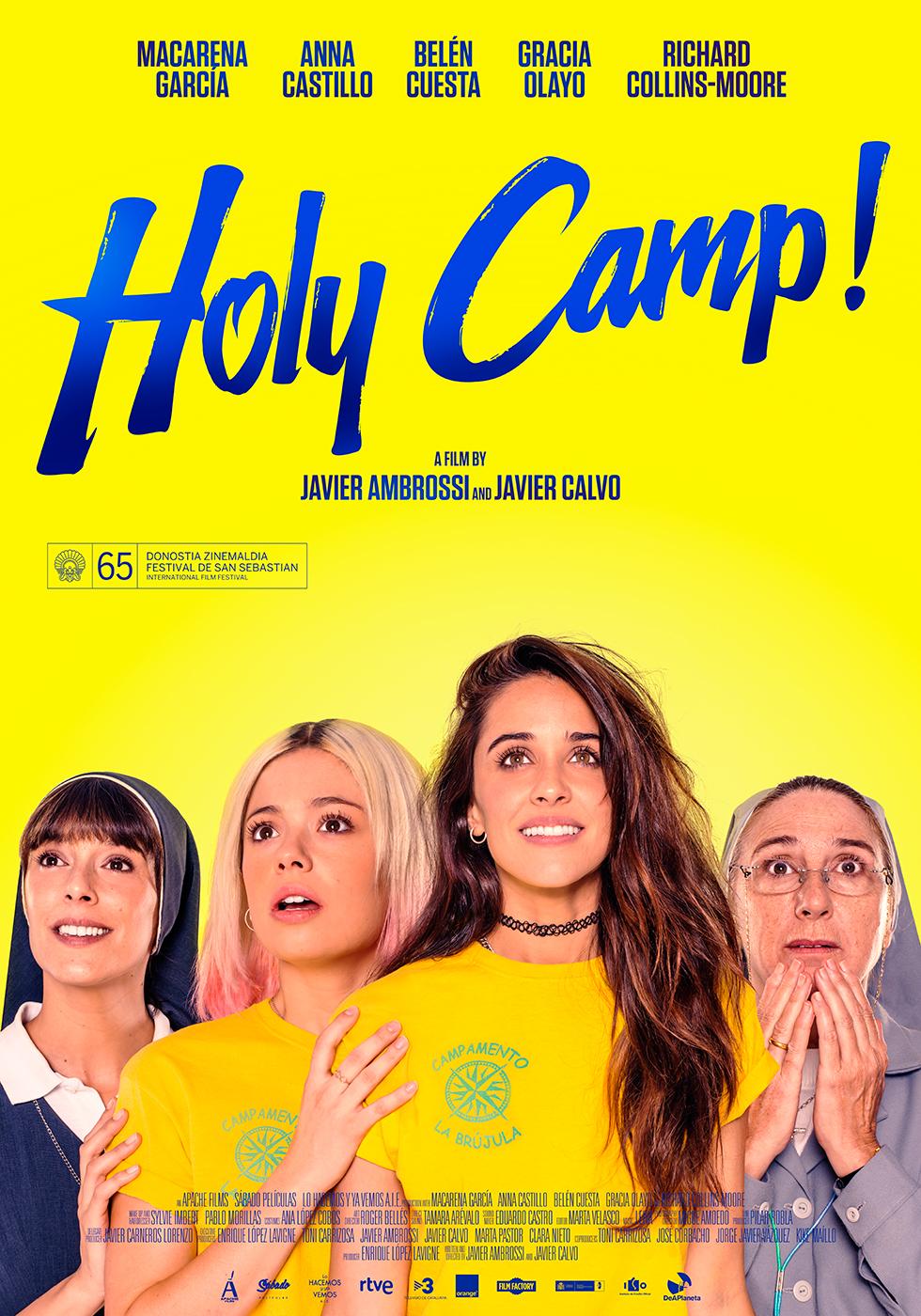 Holy Camp! kapak