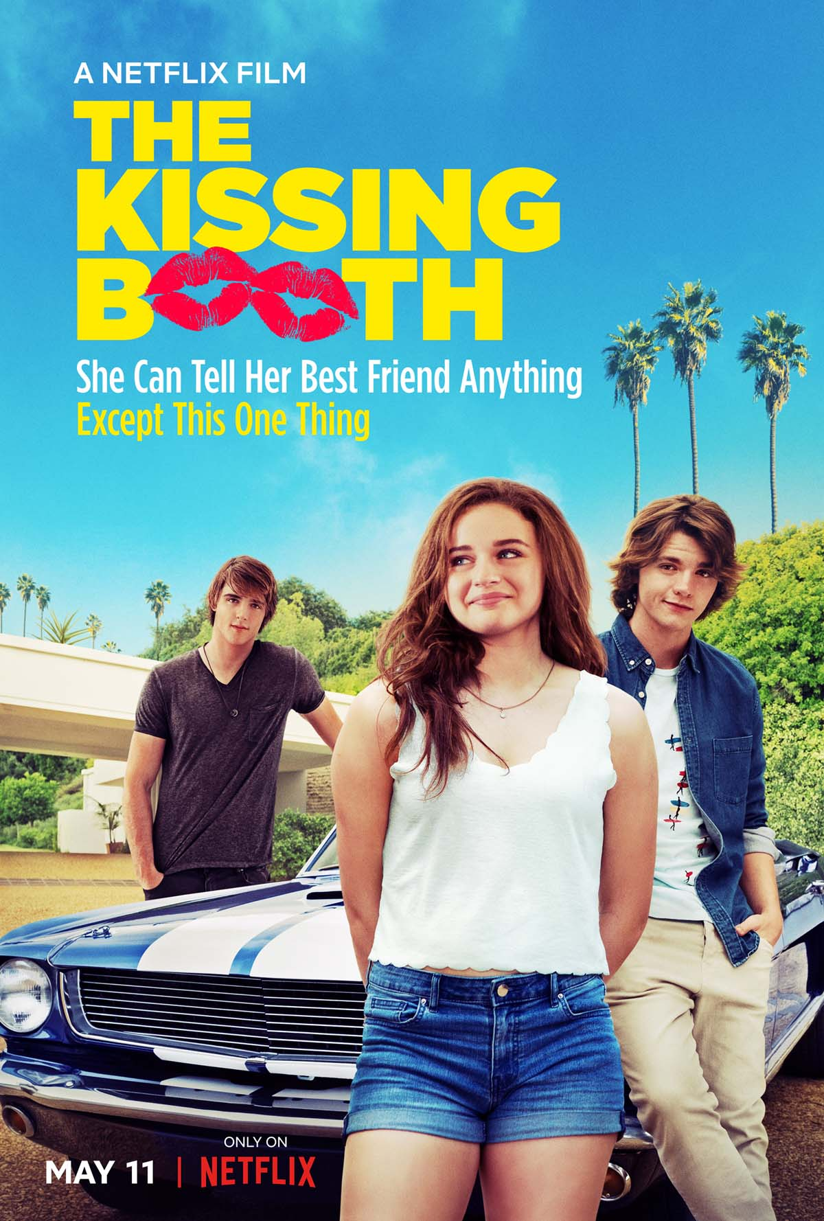The Kissing Booth kapak
