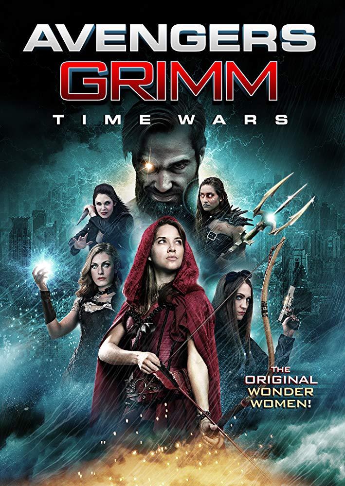 Avengers Grimm: Time Wars kapak