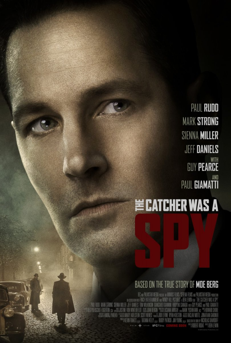 The Catcher Was a Spy kapak