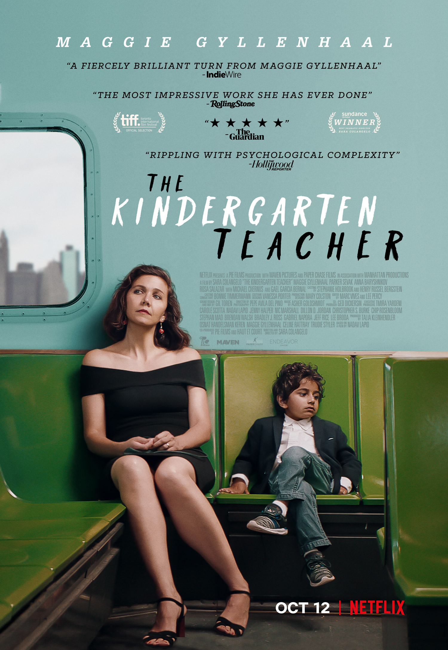 The Kindergarten Teacher kapak