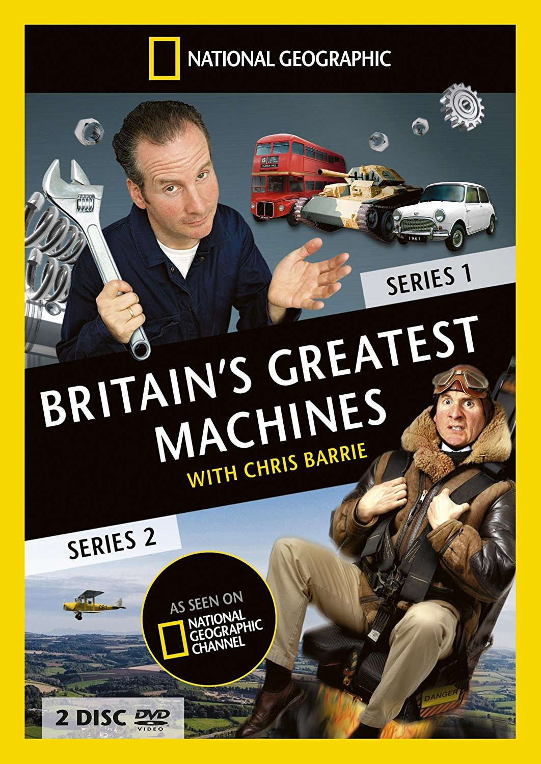 Britain's Greatest Machines with Chris Barrie kapak