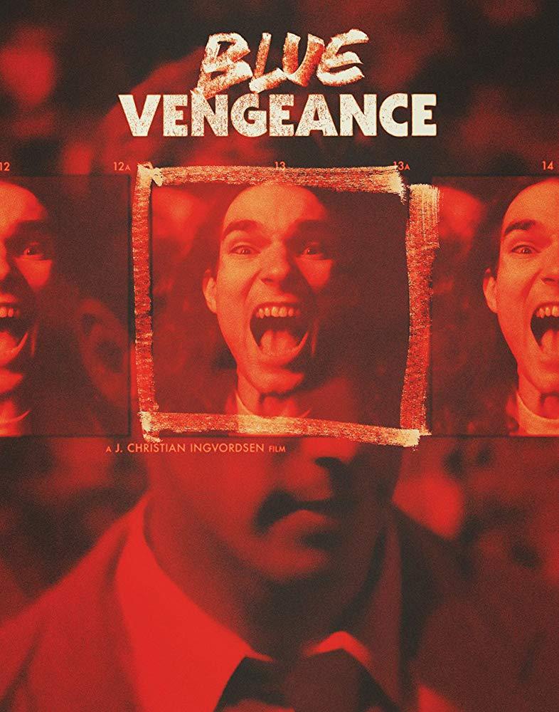 Blue Vengeance kapak