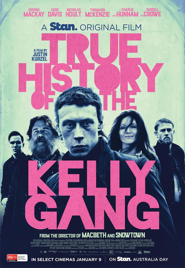 True History of the Kelly Gang kapak