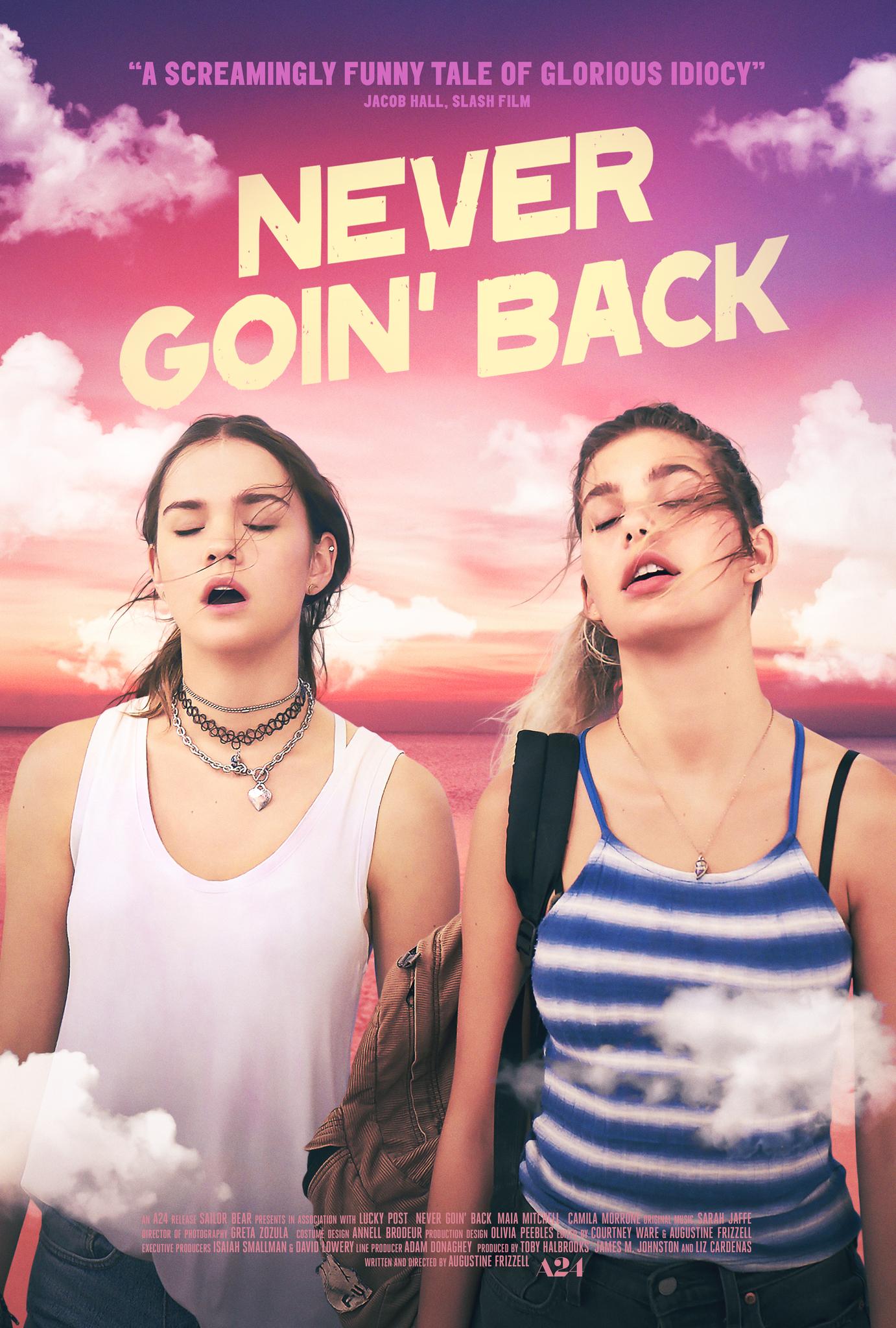 Never Goin' Back kapak