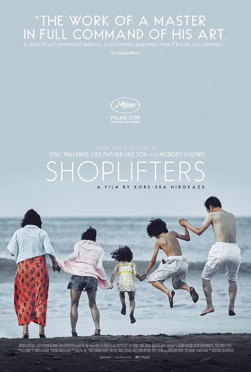 Shoplifters kapak