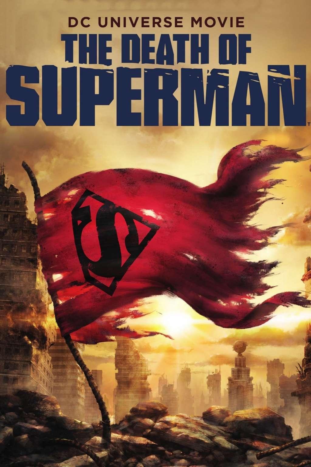 The Death of Superman kapak