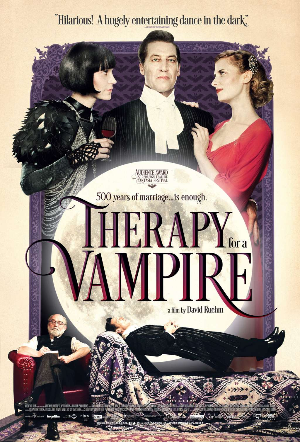 Therapy for a Vampire kapak