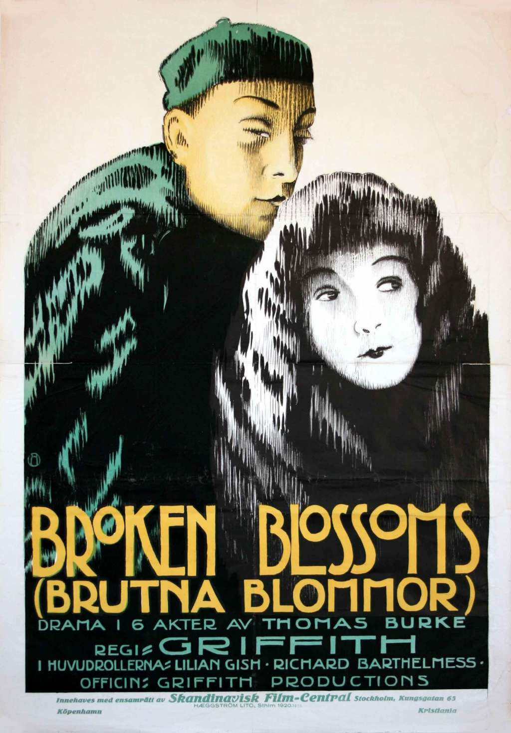 Broken Blossoms kapak