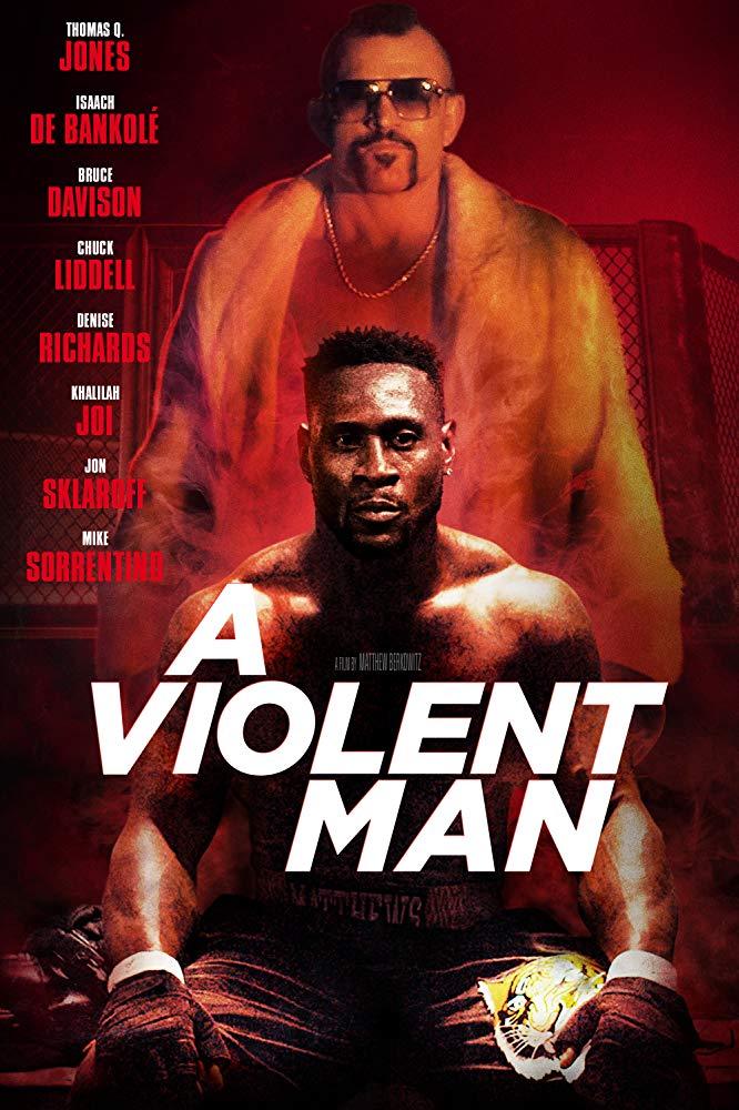 A Violent Man kapak