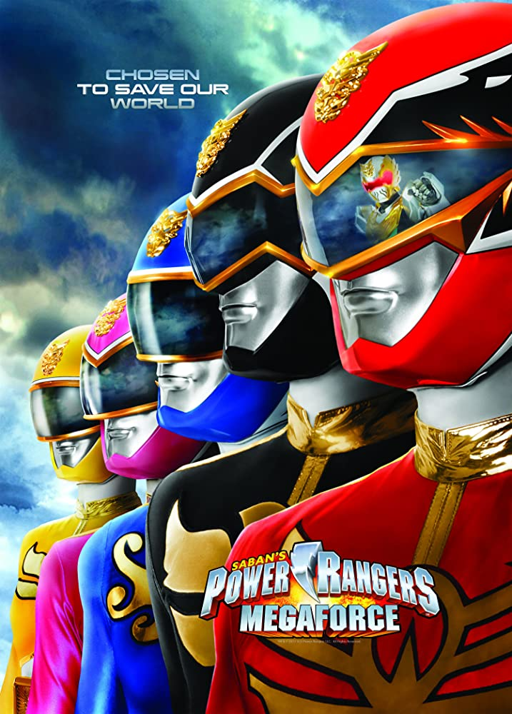 Power Rangers Megaforce kapak