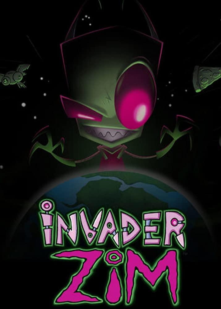 Invader ZIM kapak