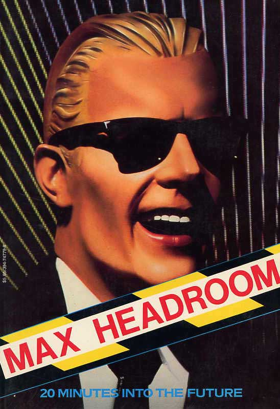 Max Headroom kapak