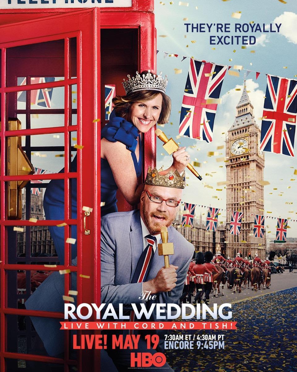 The Royal Wedding Live with Cord and Tish! kapak